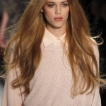Pretty and Easy Hairstyles for Long Fringed Hair