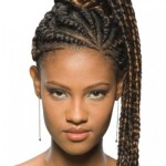 Braided Ponytail African