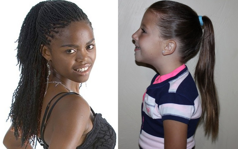 Hairstyles for Little Black Girls-Ponytails