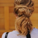 Messy Ponytail Hairstyles for Long Hair