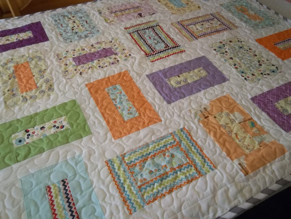 Twisted Rag Quilt Pattern Free : Baby Quilt Patterns Made with Jelly Rolls