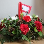 Flower Decoration Ideas in Christmas