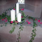 Flowers and Candles Decoration