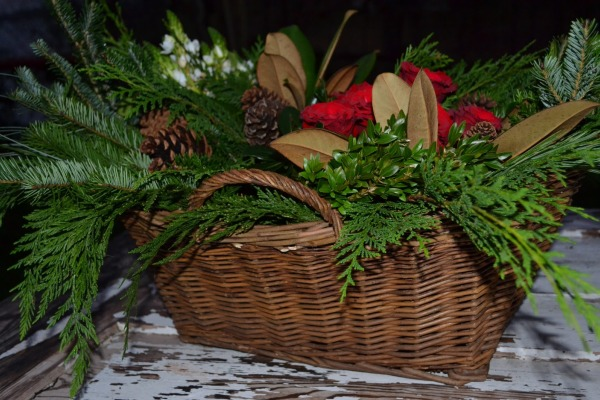 Flower Arrangements for Christmas in Church