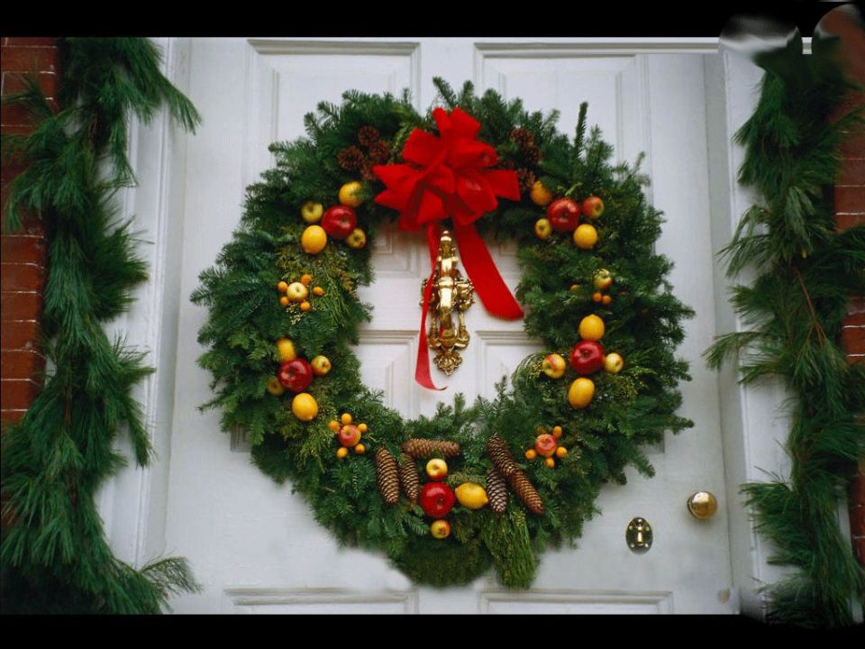 Christmas Wreath Decorating Ideas Pictures Photos