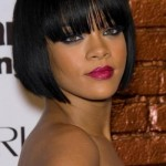 Black Short Hairstyles for Round Faces 2015