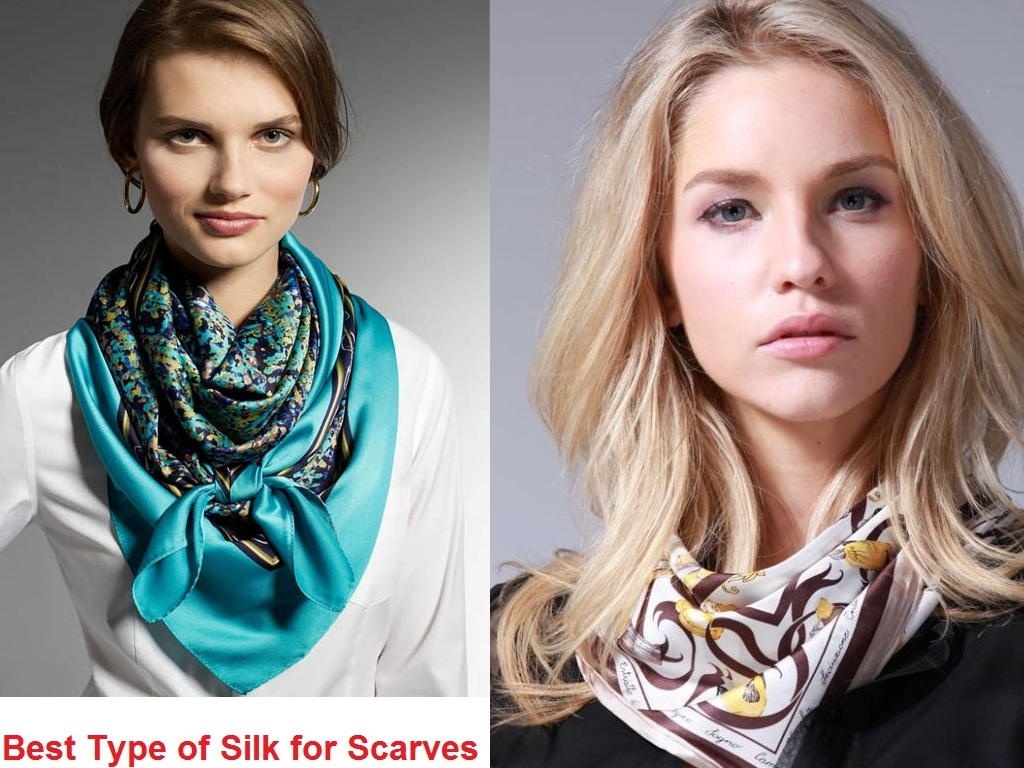 Best Type of Silk for Scarves for Women