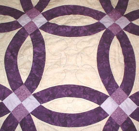 double wedding ring quilt pattern patterns 640x480 learn - Double Wedding Ring Quilt Pattern