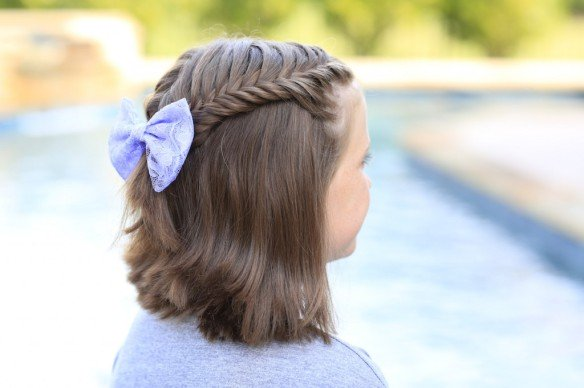 Pleasing 6 Beautiful Amp Cute Hairstyles For Girls For Easter Hairstyles For Women Draintrainus