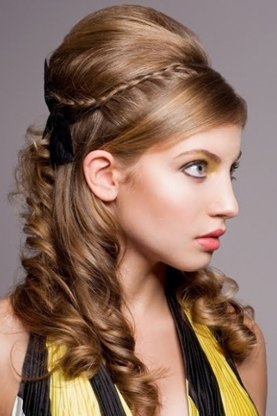Enjoyable 6 Beautiful Amp Cute Hairstyles For Girls For Easter Hairstyles For Women Draintrainus