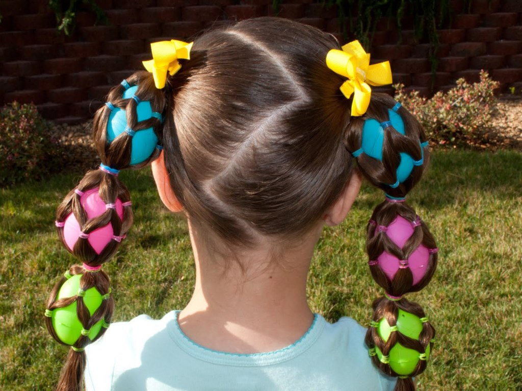 Beautiful Cute Hairstyles for Girls for Easter