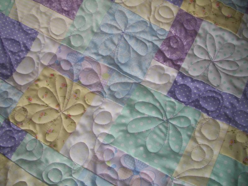 Hand Quilting Patterns For Baby Quilts : Free Quilting Patterns for Beginners to Download