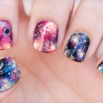 Galaxy Nail Art Design's Pictures