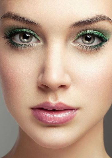 Makeup for Dark Green Eyes