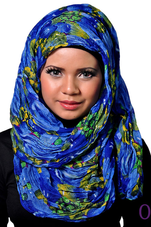 Hijab for Round Face