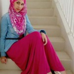 Islamic Girl Scarves Wearing Styles