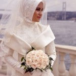 Turkish Formal and Bridal Hijab Style