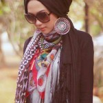 Elegant Scarves and Wraps