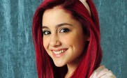 Ariana Grande Bright Wavy Red Hairstyles