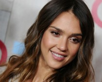 Jessica Alba Long Blonde Hairstyles 2015