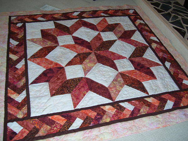 Free Star Flower Quilt Patterns : Carpenter Star Quilt Pattern Free