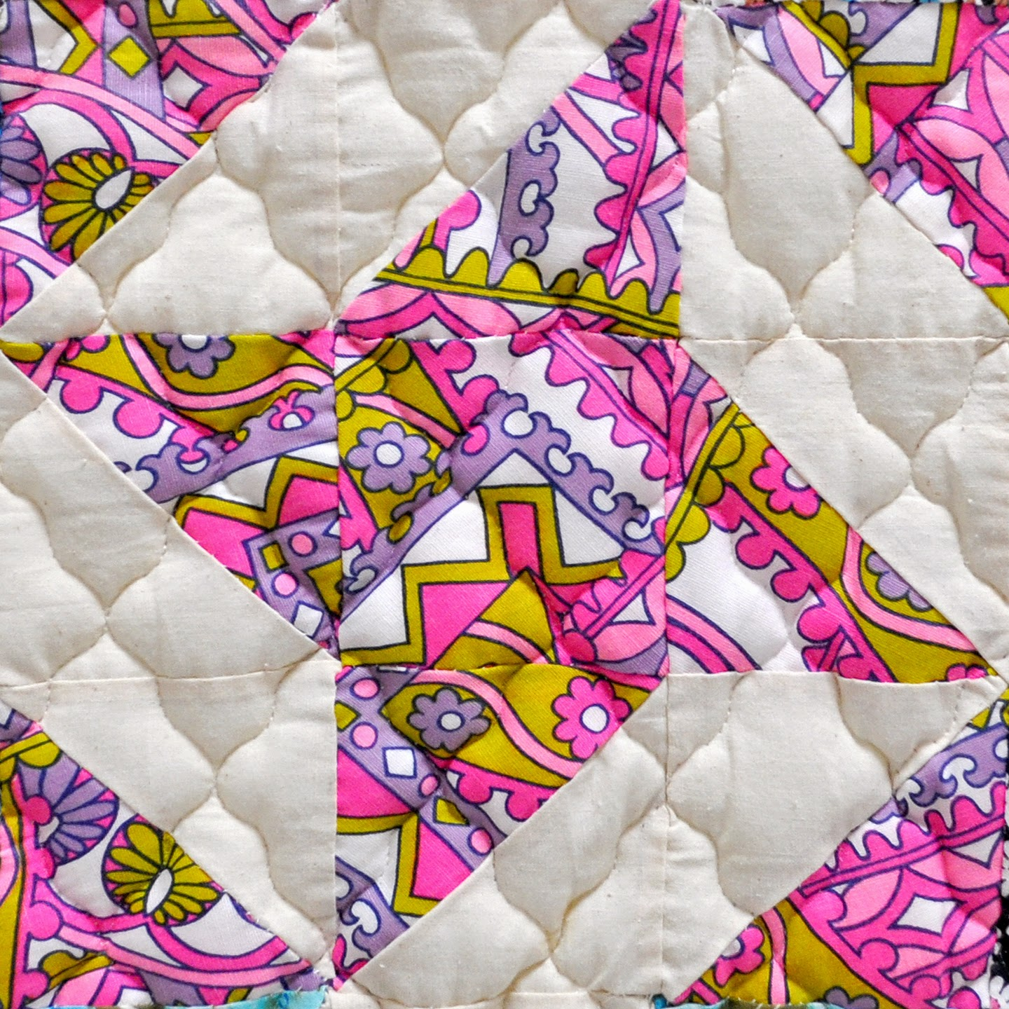 Star Quilt Pattern Scrappy Floating Stars