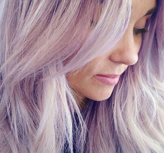 Lauren Conrad Purple Ombre Hair