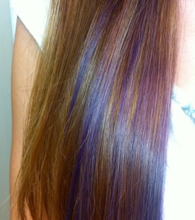 Blonde and Purple Hair Color Ideas