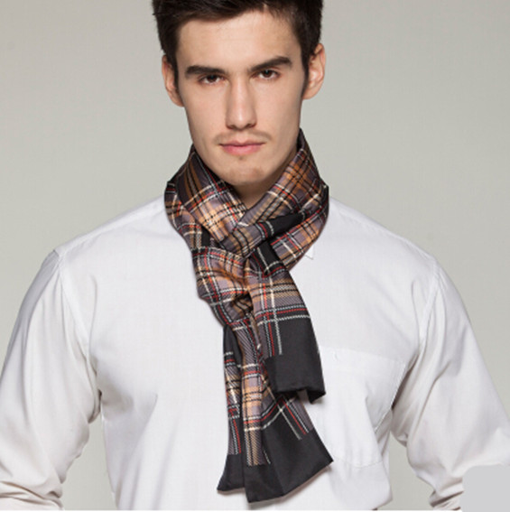 mens silk scarves how to wear rightly part 3
