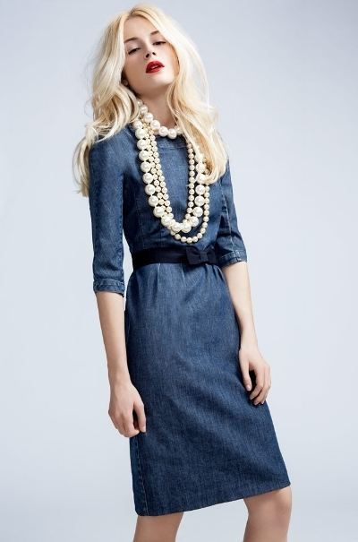 Max Mara Denim Wearing