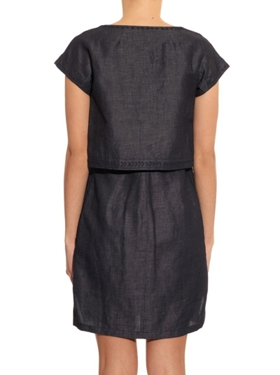 Max Mara Linen Cotton Weekend Dress