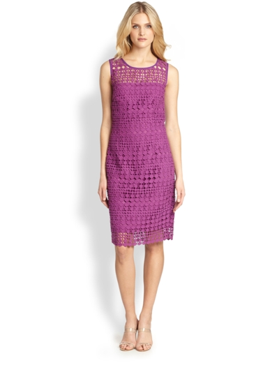Max Mara Weekend Helga Dress Purple