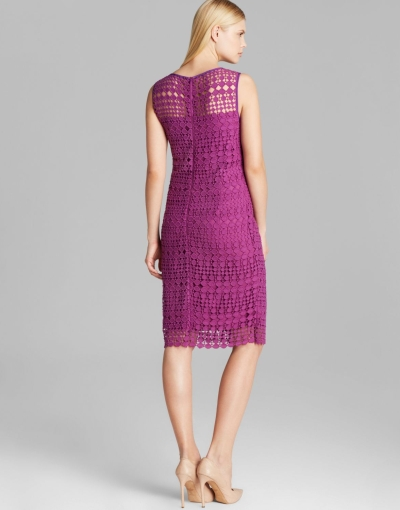 Max Mara Weekend Helga Purple Dress