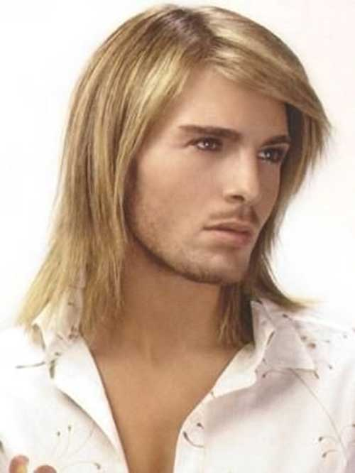 Fantastic 25 Long Blonde Hairstyles For Guys 2016 Hairstyles For Women Draintrainus