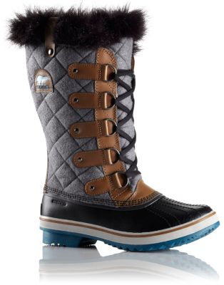 Sorel Women's Tofino Felt Winter Boots Grizzly Bear