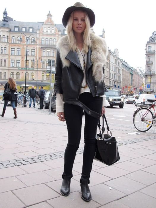 newest 42d95 7055b How to Wear Biker Style Ankle Boots for 2016