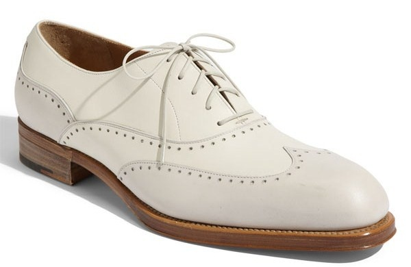 Ferragamo Mens Wingtips Dress Shoes