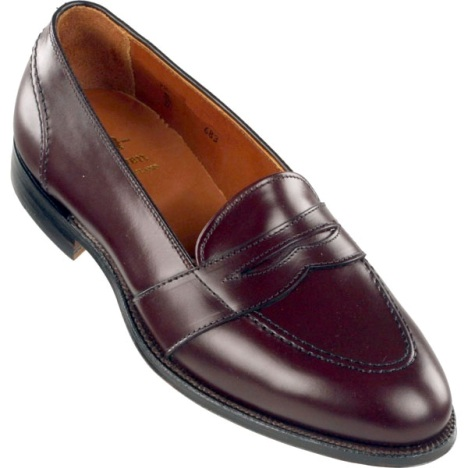 Alden Shoes Full Strap Slip-on Loafers