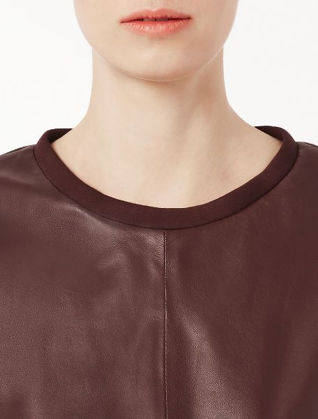 Leather Top by Max Mara