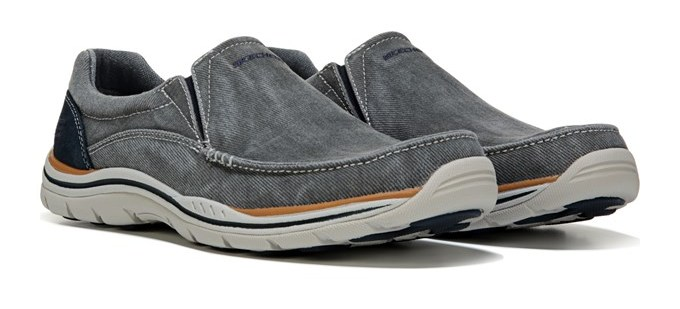 Men's Avillo Relaxed Fit Memory Foam Slip on Sneaker Shoes