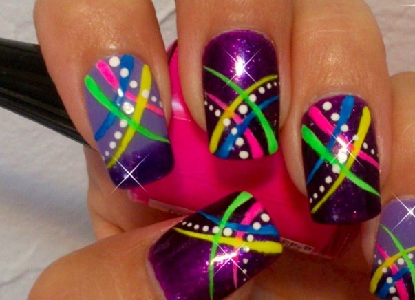Simple Easy Nail Art Designs For Short Nails