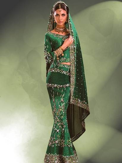 Long Sleeves Lehenga