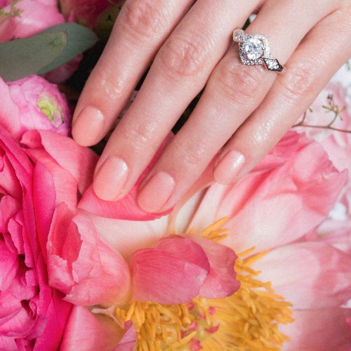 Pink Nail Polish in Bulk for Bridal Shower