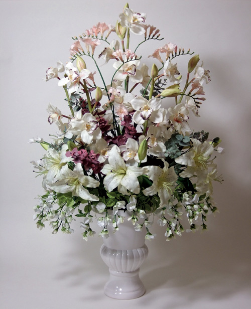 Silk Flower Arrangements for Wedding