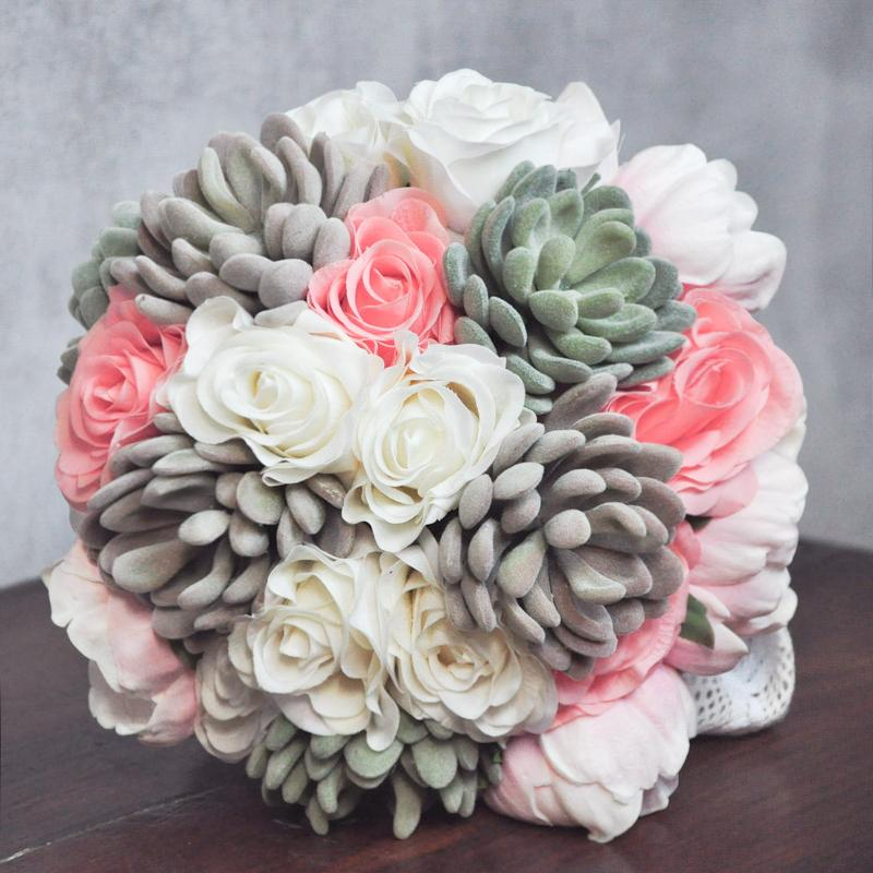How to Make Wedding Bouquets with Silk Flowers