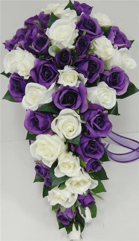 How to make silk flower arrangements for church 25 best ideas purple white rose silk flowers idea mightylinksfo