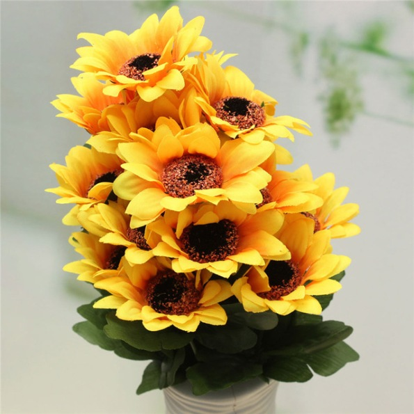 Excellent Quality Beautiful Artificial Silk Flower Bouquet