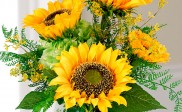 Silk Harvest Sunflower Bouquet Idea