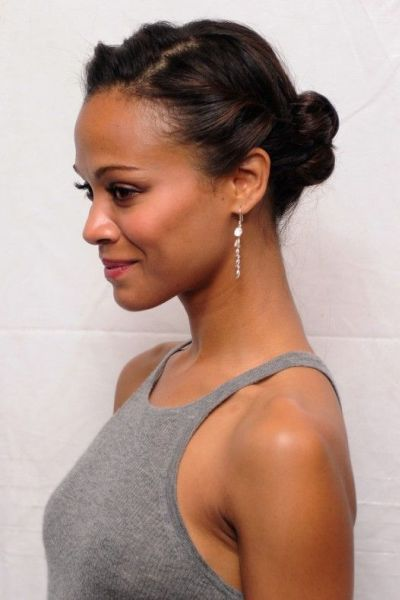 Cute Ponytails for Short African American Natural Hair
