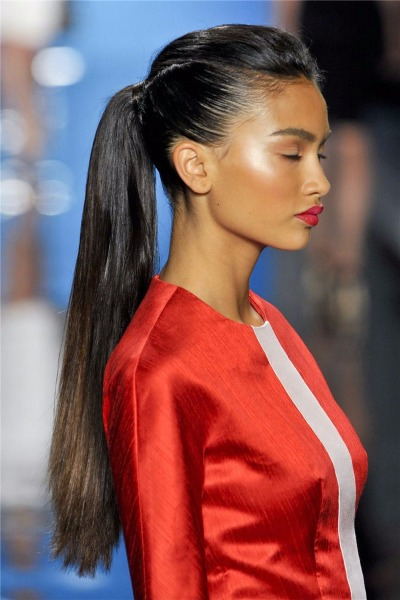 Cheap Simple High Ponytails Haircut